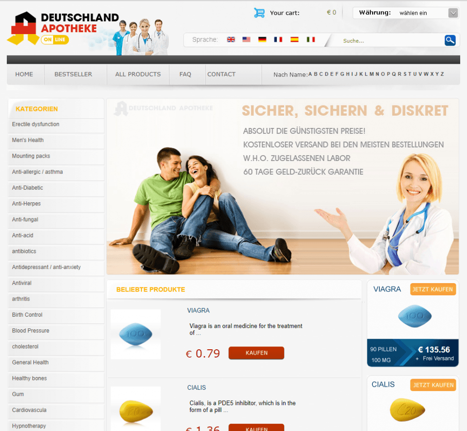 Deutschland-apotheke-online.com Review – Cheap Online Pharmacy