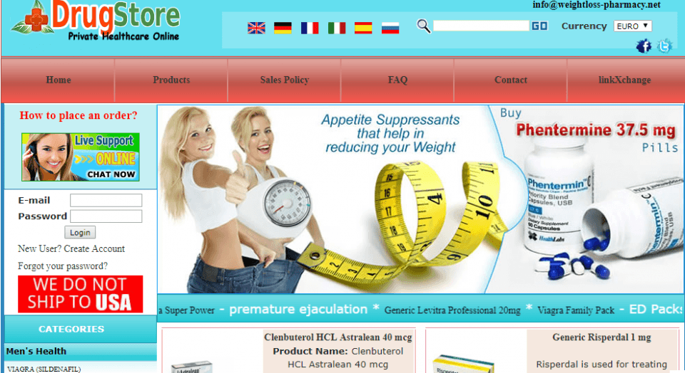 Weightloss-pharmacy.net Review – Online Shop that Offers Quality Products at Relatively Low Prices