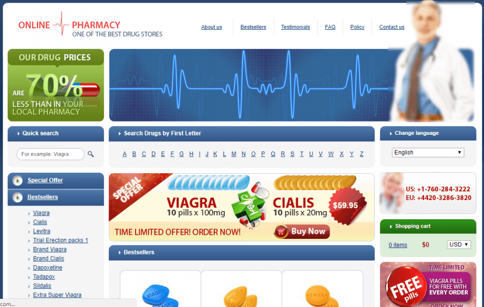 Trustedshopcanada.com Review – Another Fake Affiliate Pharmacy
