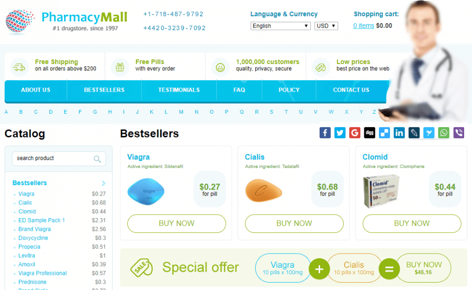 Buyonlinepills.com Review – Beware of this Vendor with Copied Reviews