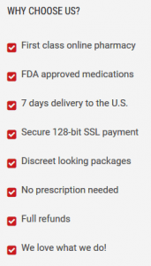 Another Example of Prescription-Free Policy of a Web Drugstore
